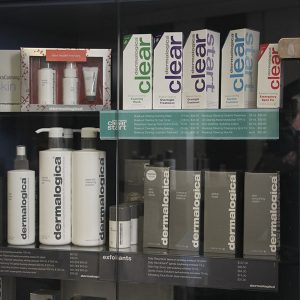 Dermalogica creams and lotions.