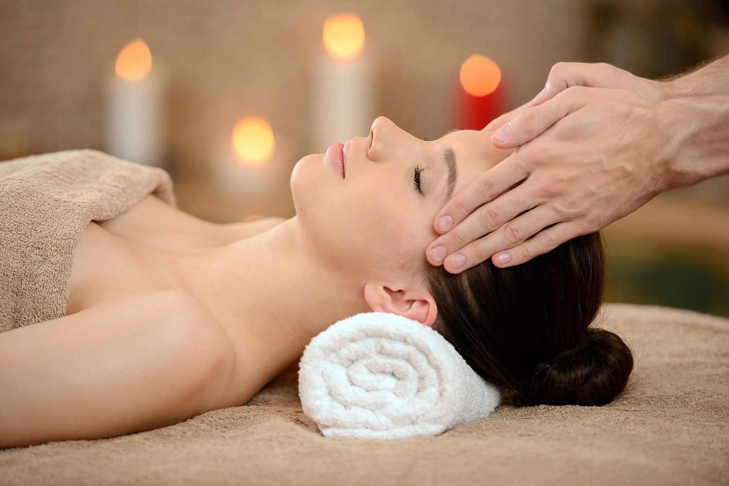 Massage at the rising day spa